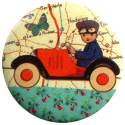 Froy en Dind-hippe retro badge-auto-2776