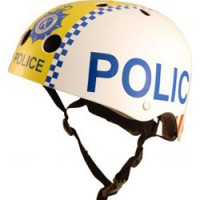 hippe fietshelm police SMALL