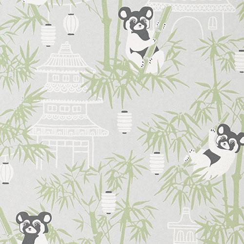 Majvillan-origineel zweeds behangpapier-bambu grey-9897