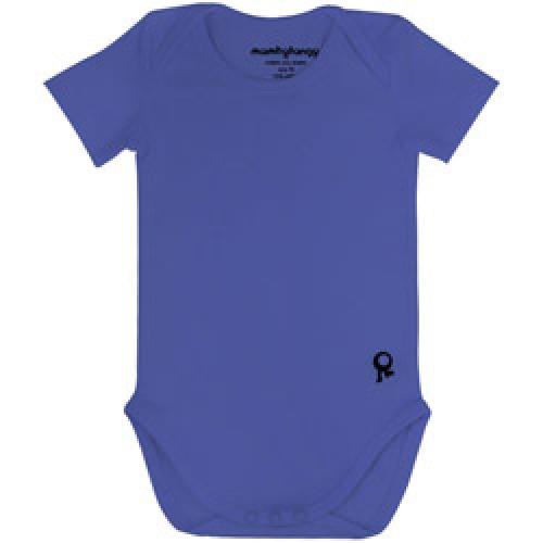 Mambo Tango-blauwe body met korte mouw-blauw 50/56-4275