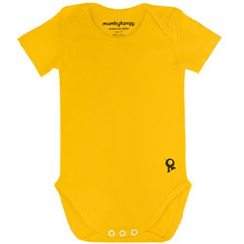 Mambo Tango-body bébé jaune manches courtes-geel 74-prod4289-fr 6cc31729436