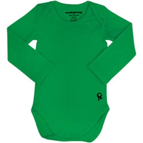 Mambo Tango-groene body met lange mouw-groen 68-4300