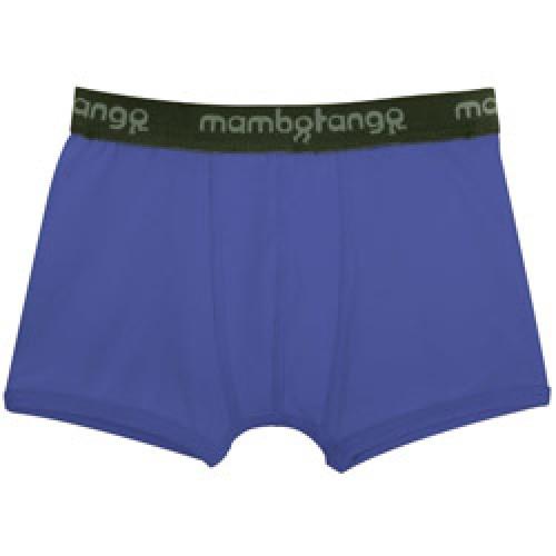 Mambo Tango-stoere blauwe boxer voor jongens-blauw 8 jaar-4443