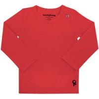 rode baby t shirt met lange mouw