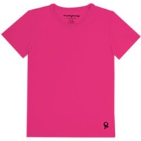 fuchsia kids t shirt met korte mouw