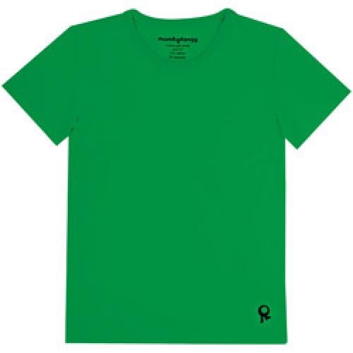 Mambo Tango-groene kids t shirt met korte mouw-groen 4 jaar-4525