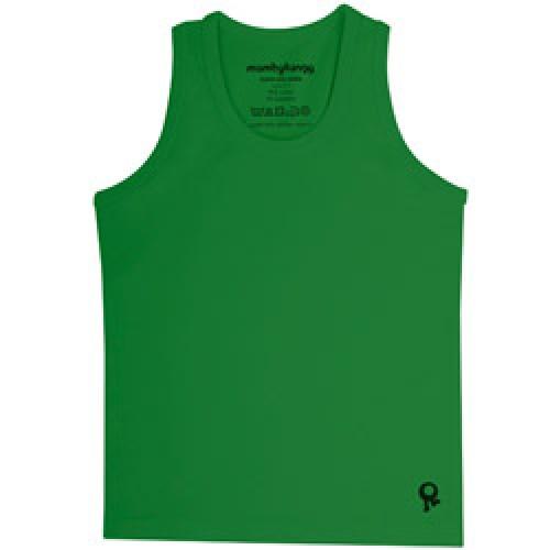 Mambo Tango-groene kids t shirt zonder mouw-groen 2 jaar-4499