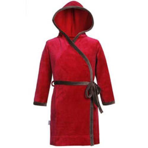 Mundo Melocotón-knuffelzacht kamerjasje-rood 80-1789