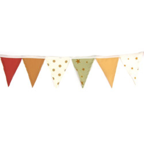 Nobodinoz-UITVERKOCHT kleurrijke katoenen mini slinger-polka dots camel small-6235