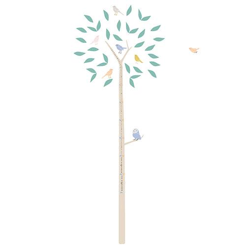 Mimi'lou-groeimeter muursticker boom-arbre-10073
