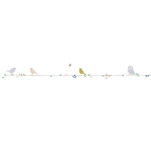 Mimi'lou-muursticker fries fleurs et oiseaux-bloemen en vogels-10068