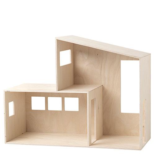 Ferm Living-prachtig houten poppenhuis Funkis - small-Funkis Small-10039