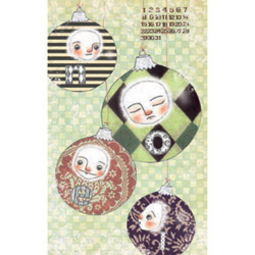 La Marelle Editions-kleine wenskaart la marelle-kerstmis-5042