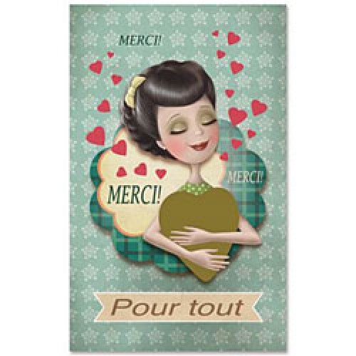 La Marelle Editions-kleine wenskaart om te krassen merci-merci nina de san 1-6385