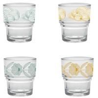 set van 4 duralex glazen