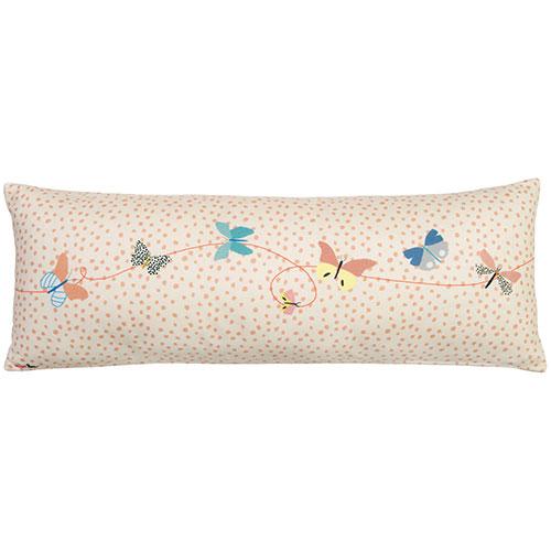 Mimi'lou-langwerpig sierkussen papillons-papillons-10062