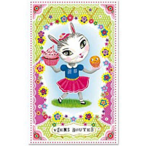 La Marelle Editions-kleine wenskaart met glitters-uitnodiging-5023